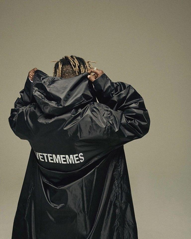Vetememes從街拍和ssense的型錄改的形象照