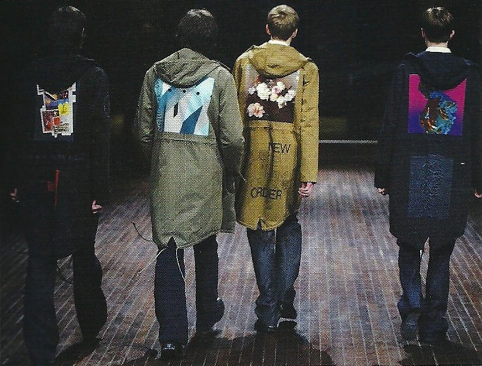 "Raf Simons F/W 2003 ""Closer"""