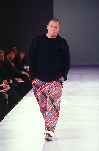 Alexander McQueen in Comme des Garcons 1997 F/W