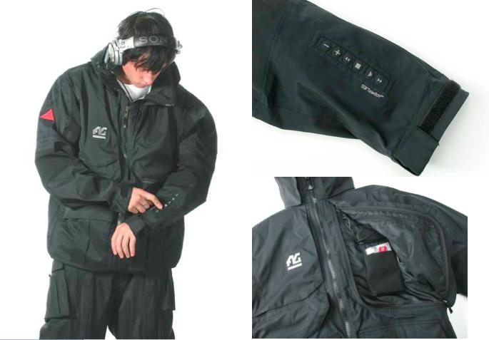 替Burton設計出能植入Sony Net MZ-N1 MD隨身聽播放機的MD jacket,選手只需觸摸外套袖子上的控制面板即可更改歌曲或音量,獲得Time magazine 2002年最佳發明殊榮。
