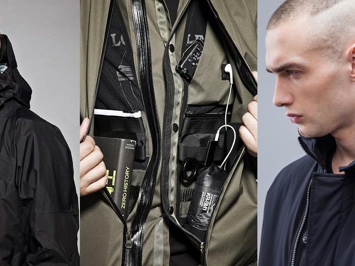 在衣領附近的隱藏磁吸功能,可在穿著夾克時將耳機固定到位。