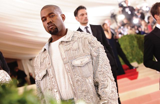 Kanye West via WWD