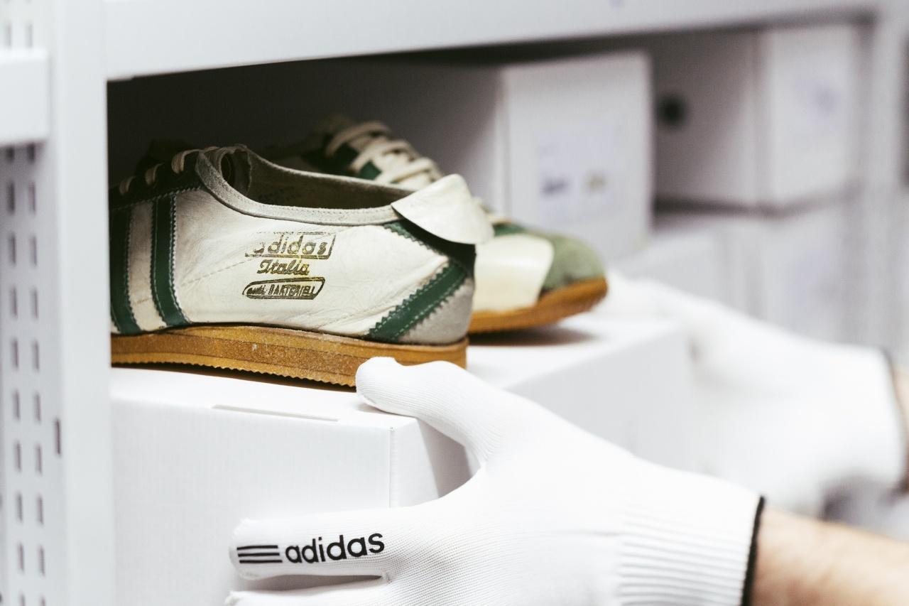 1959年adidas Italia經典慢跑鞋,爾後成了1960羅馬奧運最流行的鞋款