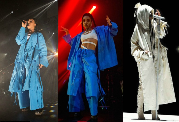 FKA Twigs & Rihanna in Craig Green