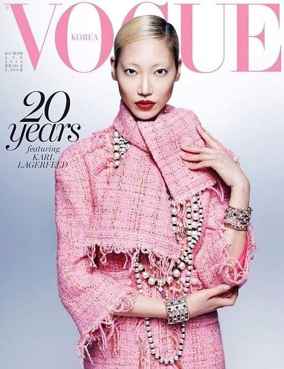Vogue Korea August 2016 Covers via Models.com