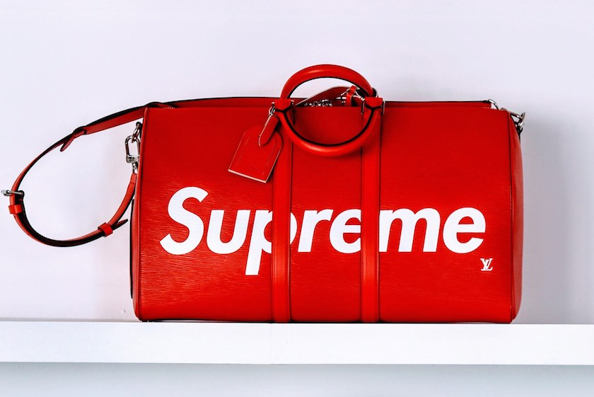 Louis Vuitton x Supreme via Vogue