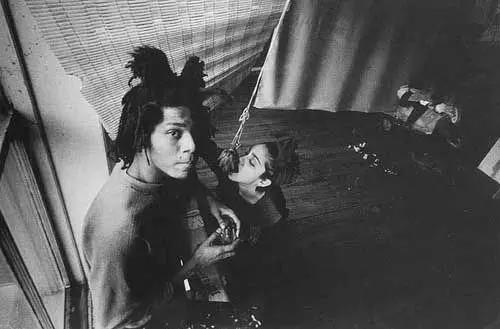 Jean-Michel Basquiat with Madonna