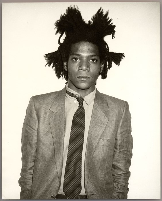 Jean-Michel Basquiat, 1982 Photography Andy Warhol, via penccil.com