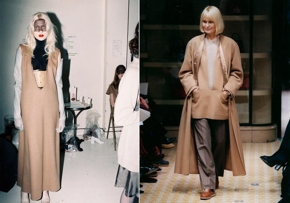 Maison Martin Margiela A/W 1996-1997; Hermès A/W 1998-1999 via dazeddigital