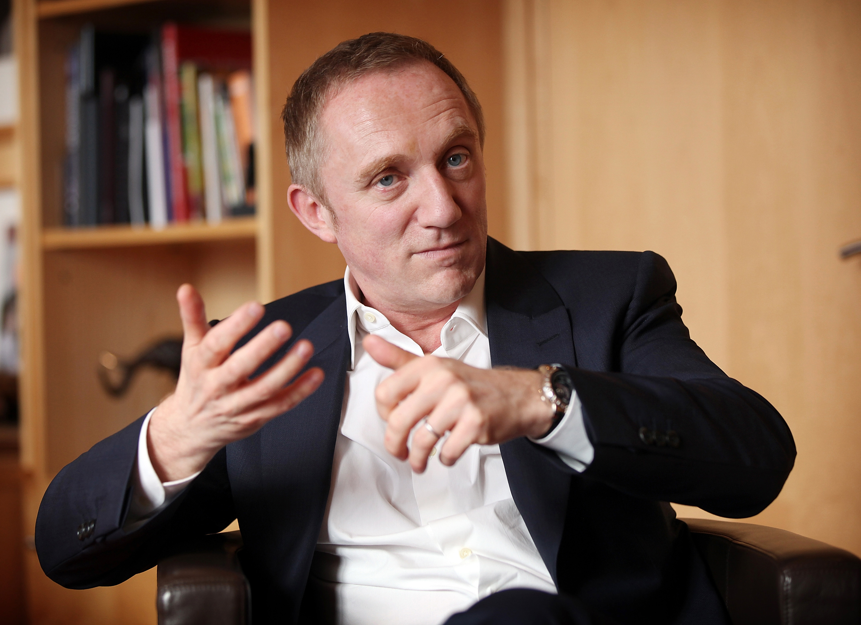 Interview With Francois-Henri Pinault CEO Of PPR SA