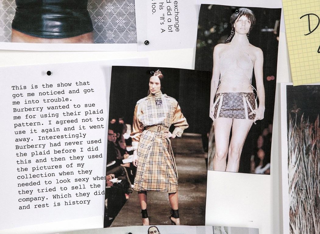 Miguel Adrover's A/W00 via AnOther