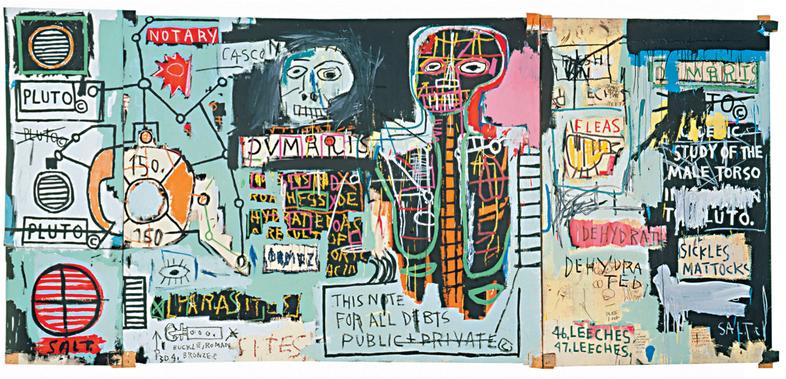 Jean-Michel Basquiat〈Notary〉1983