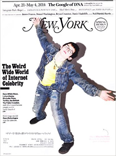 NEW YORK magazine cover via Amazon