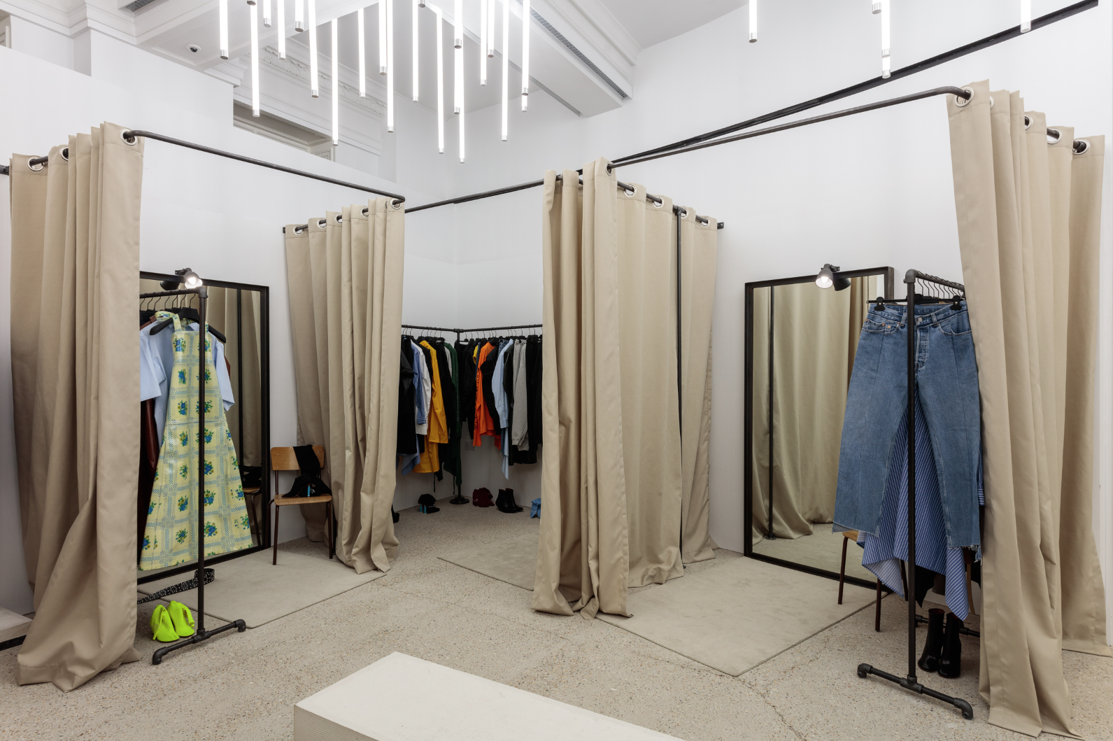 Vetements in Dover Street Market via Crash Magazine