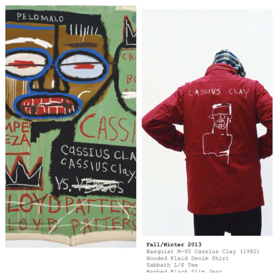Supreme x Jean-Michel Basquiat  via Macaulay Honors College
