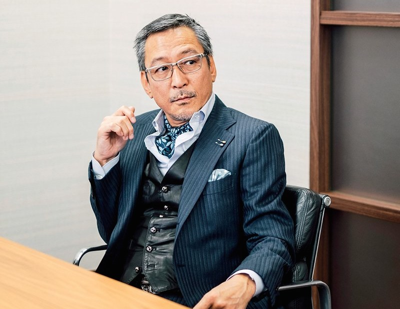 United Arrows CEO Mitsuhiro Takeda via GQ