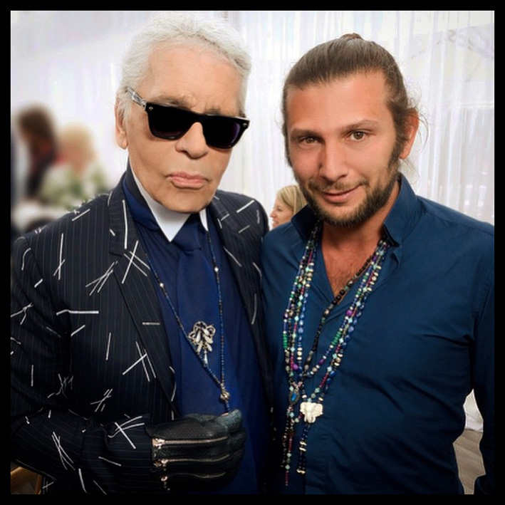 Karl Lagerfeld & Cyril Bismuth