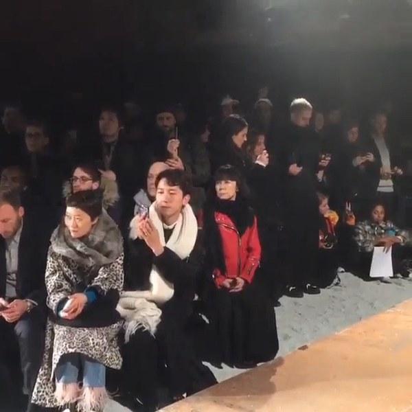 川久保玲罕見現身Gosha R ubchinskiy 2016 F/W秀場