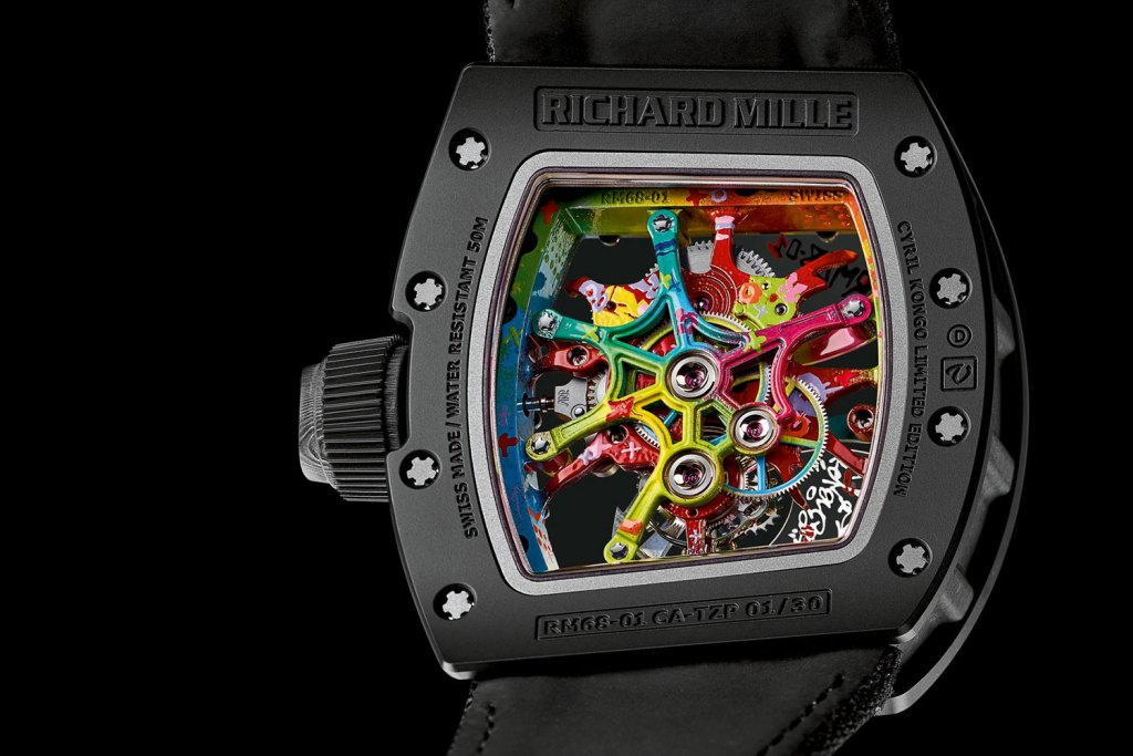 Kongo x Richard Mille Hand-Painted Tourbillon
