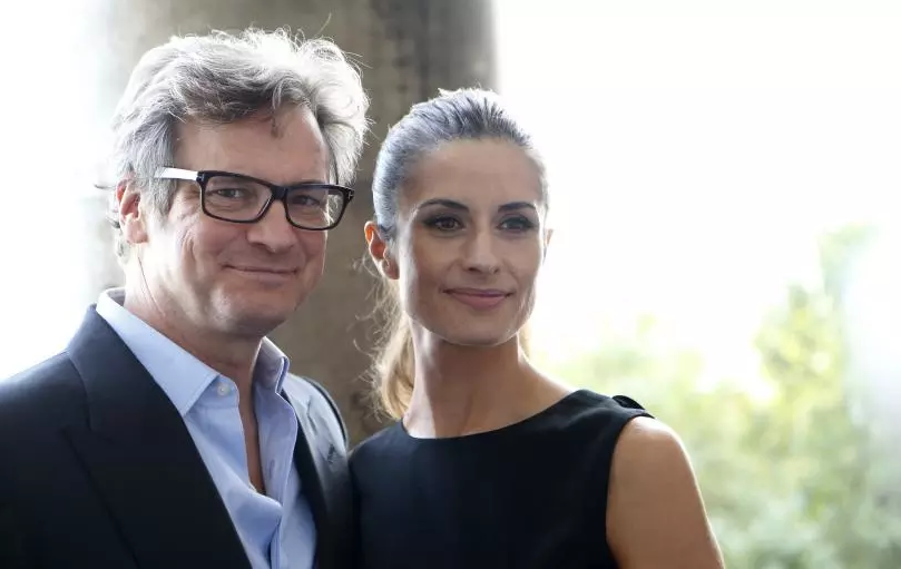 Colin Firth與妻子Livia Firth