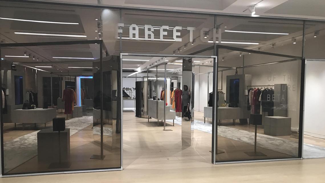 Farfectch未來商店 via Farfetch