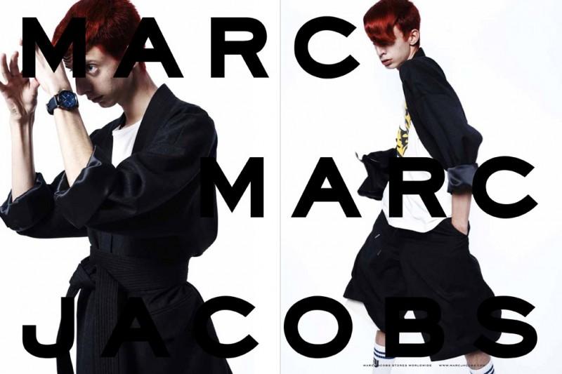 Marc by Marc Jacobs 2014秋冬請來網紅代言也算一時聲名大噪