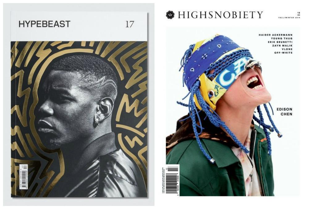 Highsnobiety與Hypebeast平面雜誌
