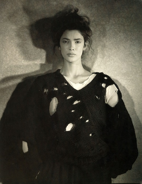 "Comme des Garcons 1982 F/W ""the Lace Sweater"""