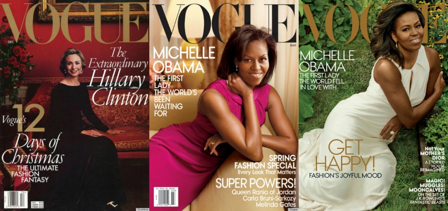 first lady in vogue