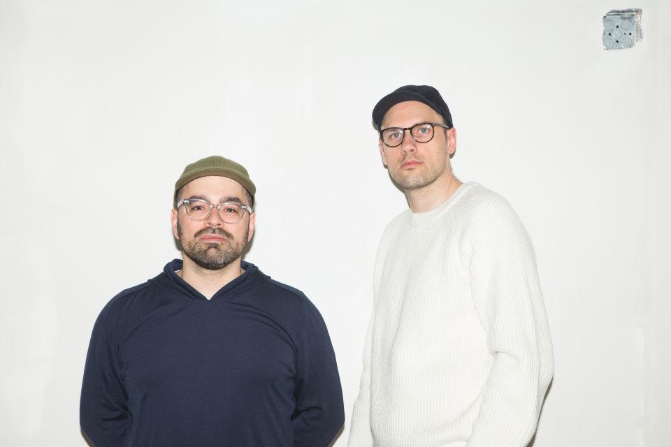左Jeff Carvalho、右David Fischer via Highsnobiety