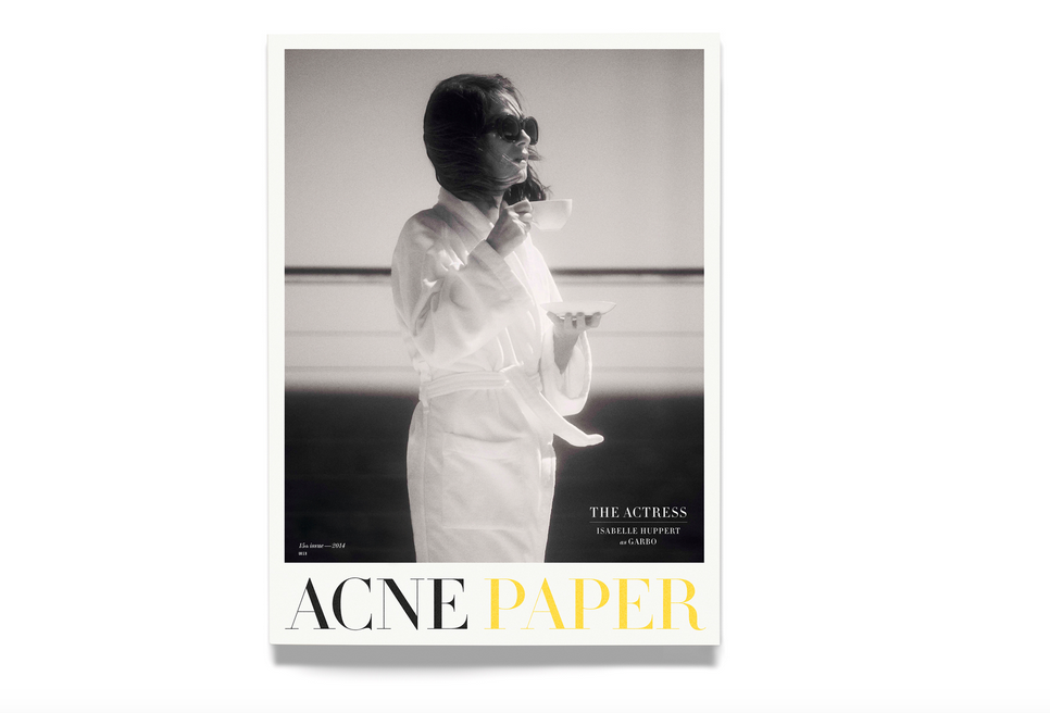 ACNE PAPER 15th ISSUE