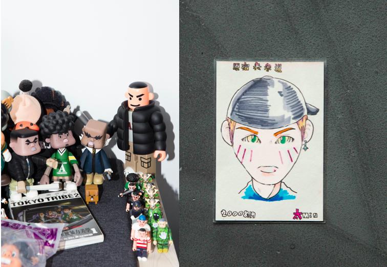 TOKYO TRIBE / 2000年畫像於表參道