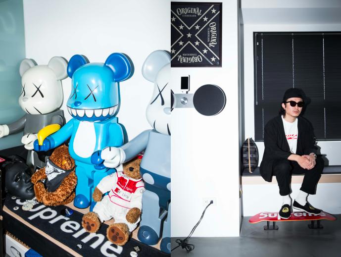 KAWS X BE@RBRICK / Chi Chiang
