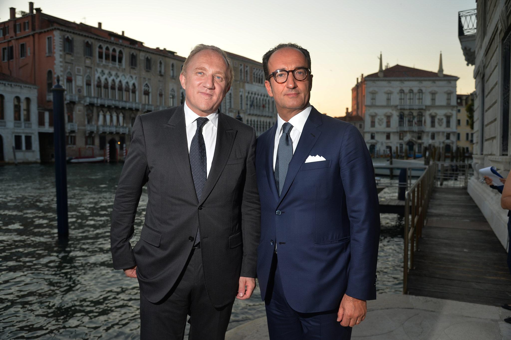 Henri Pinault & Roberto Vedovotto