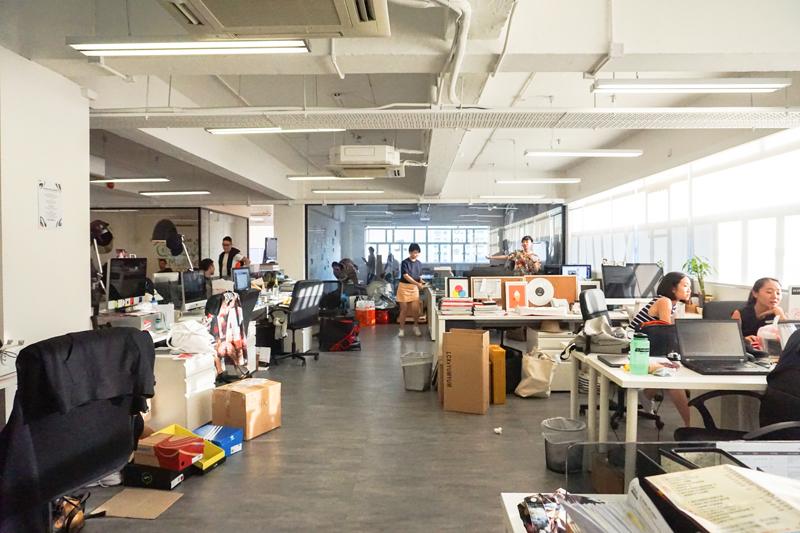 Hypebeast HK office via bytuesday.blogspot.tw