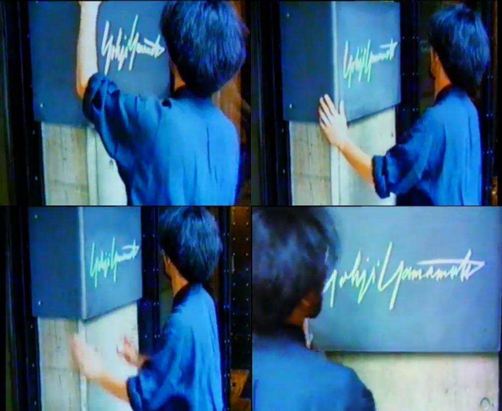 Yohji Yamamoto 山本耀司簽名 via 《Notebook on Cities and Clothes(1989)》