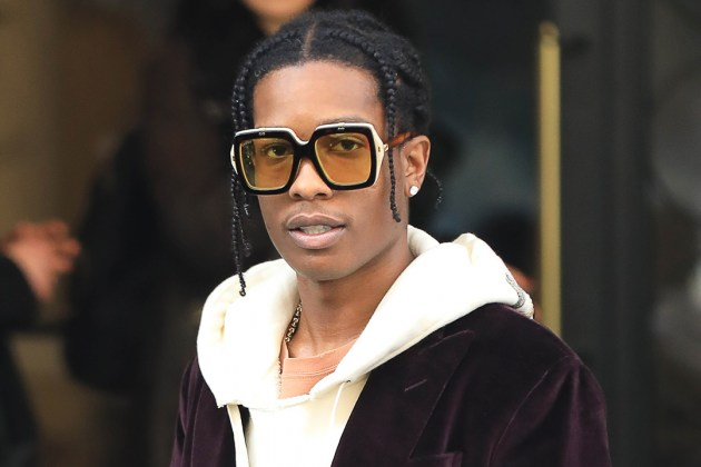 Asap Rocky with Gucci eyewear