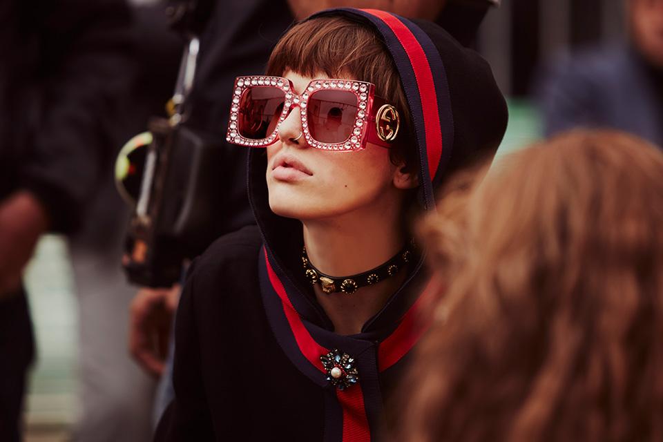 Gucci's Wild SS17 Campaign ,via highsnobiety