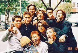 學生時期的前澤友作