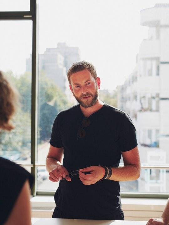 MYKITA founder Moritz Krueger