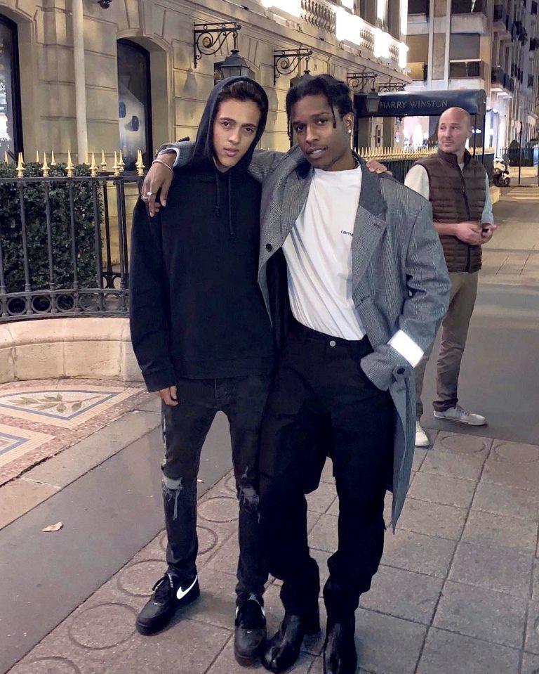 A$AP Rocky in Margiela Tabi Boots