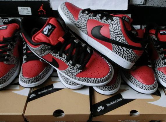 Supreme x Nike SB Dunk Low via Sneaker News