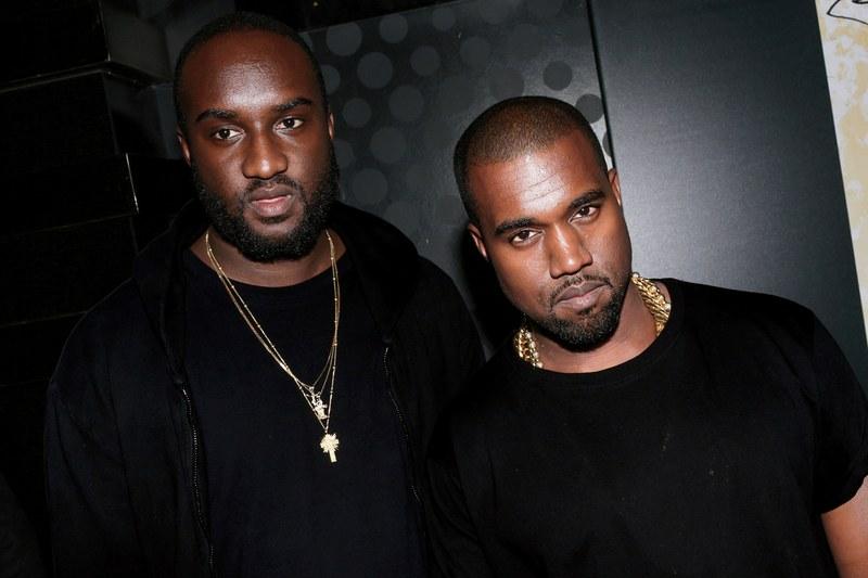 Kanye West & Virgil Abloh via GQ