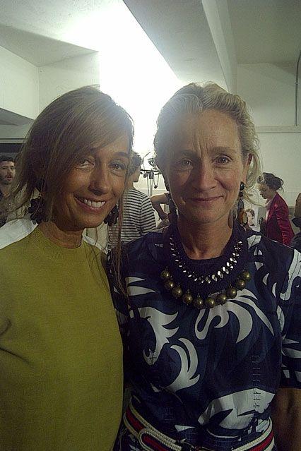 Marni 品牌創辦人 Consuelo Castiglioni 與 Lucinda Chambers
