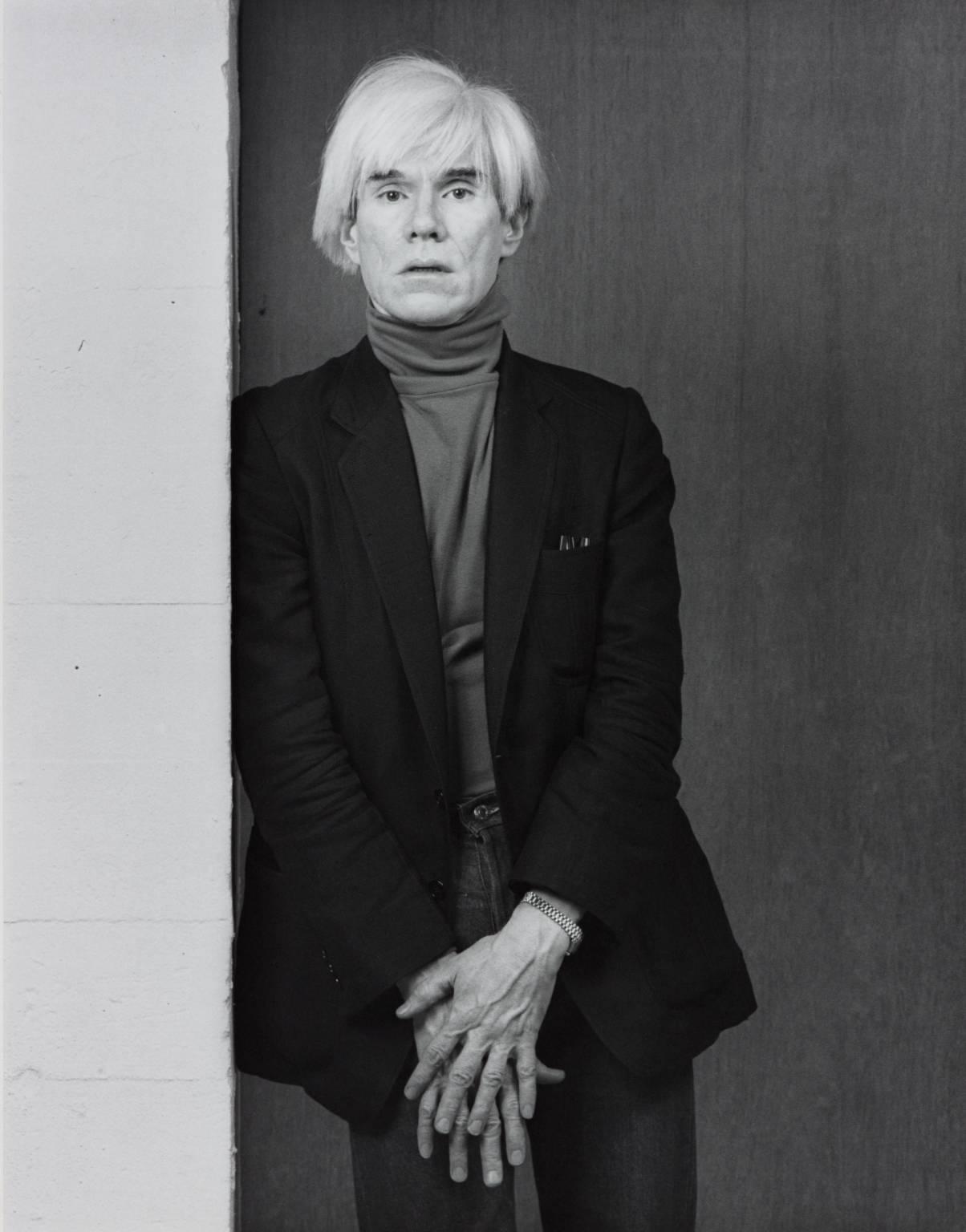 Robert Mapplethorpe, 'Andy Warhol' 1983