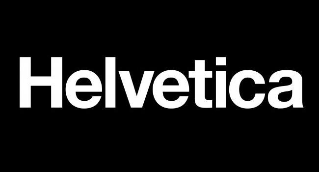 Helvetica 字型