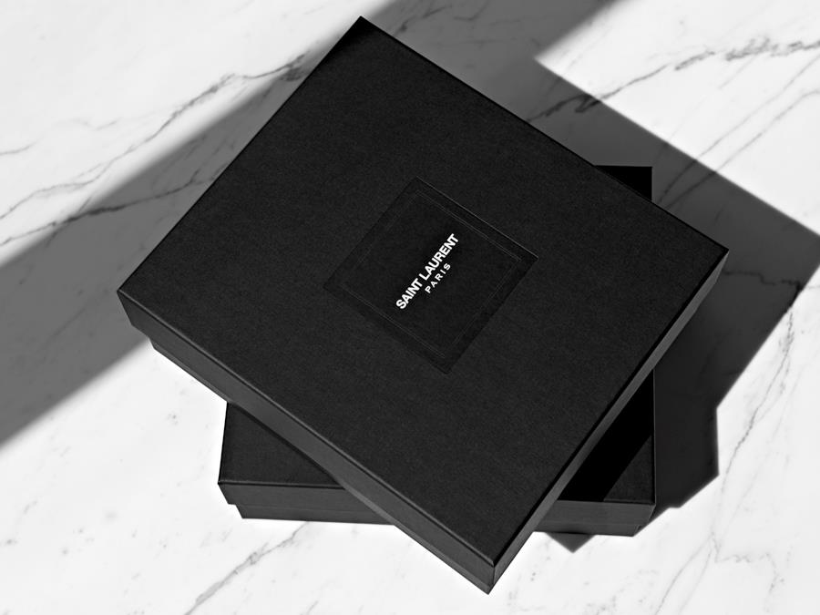 Saint Laurent logo box
