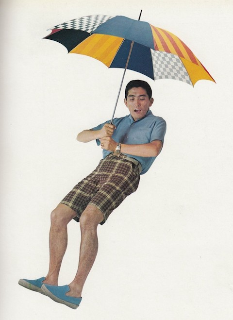 Takeyoshi Hayashida 穿上 VAN 球鞋擔任《Men's Club》模特兒