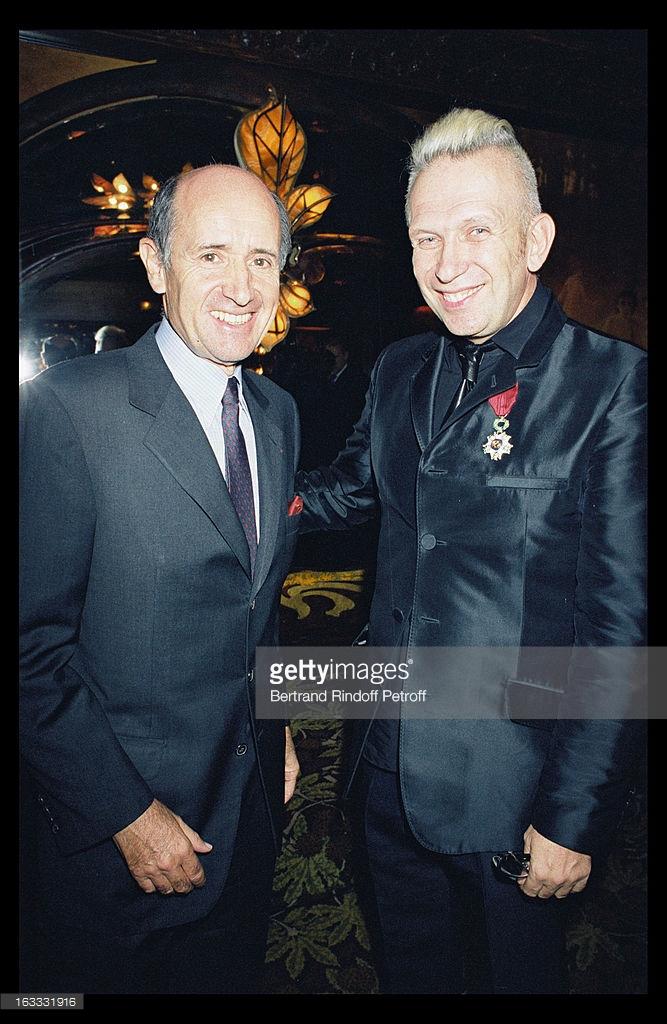 Jean-Louis Dumas 與 Jean Paul Gaultier