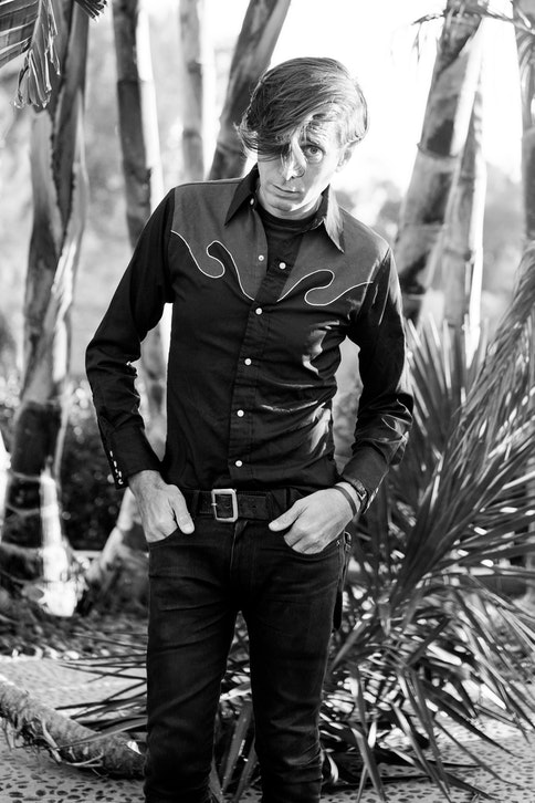 Hedi Slimane in Los Angeles, May 2017 | Source: Courtesy via BOF